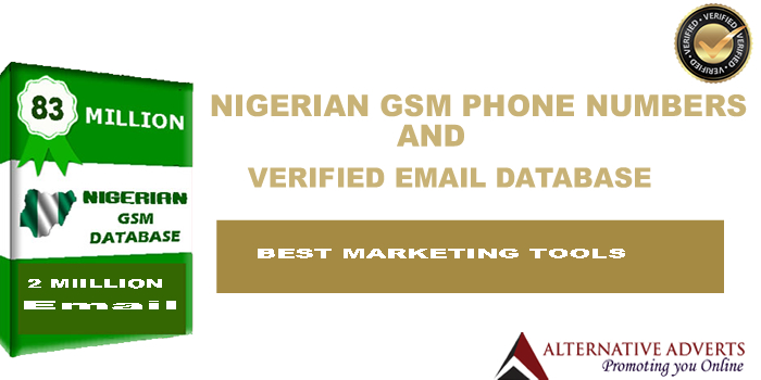 Email addresses of companies in Lagos