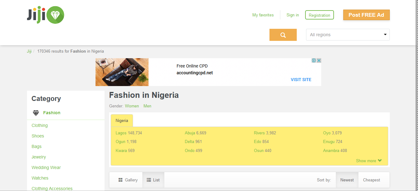 Fashion in Nigeria for sale at online shop Buy at Jiji.ng6