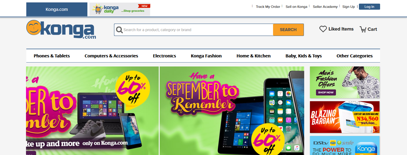 Online Shopping Phones Fashion Electronics Konga Nigeria4