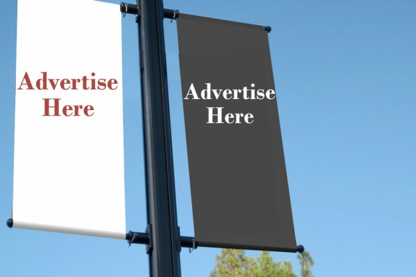 Lamp posts advertising and outdoor advertising agency