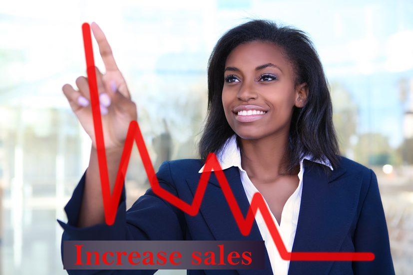 sales increase