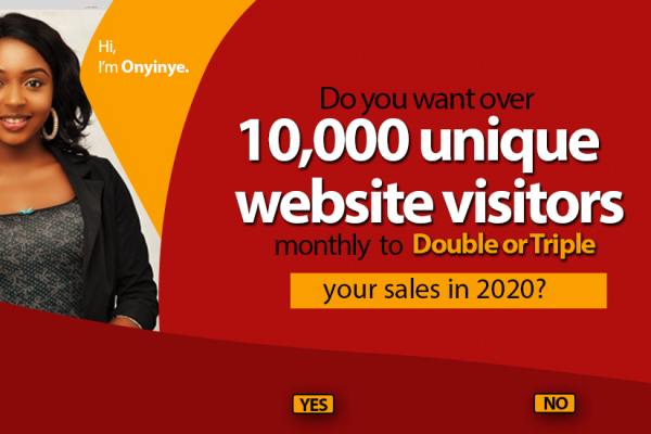 How to get 10,000 unique website visitors monthly