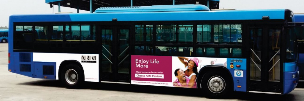 brt bus branding